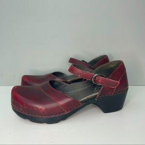 dansko Red mary jane 37 Size 9808020200